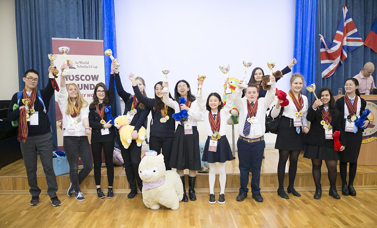 The World Scholar's Cup, 30 March 2017, School 7.