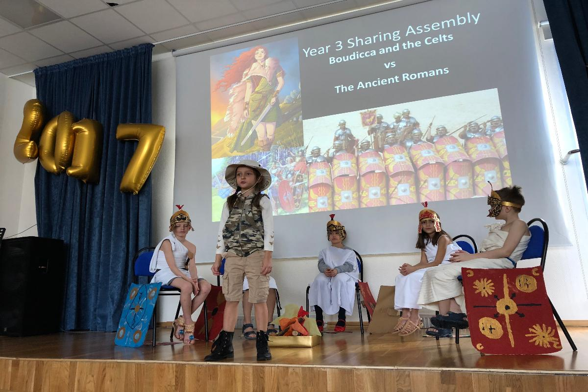 Year 3 Sharing Assembly.