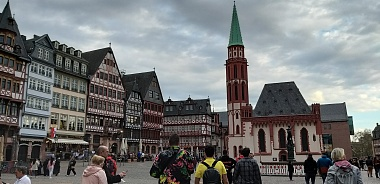 The students of Years 12 and 13 ( School 3) visited Frankfurt and Nuremberg under the Program CAS.